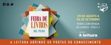 Feira de Livros Del Paseo – 29 de agosto a 11 de setembro