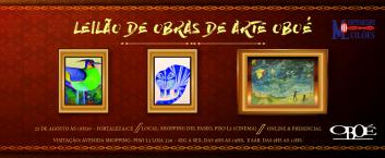 Leilão de obras de arte pertencentes a Massa Falida OBOÉ