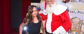 Fotos chegada do Papai Noel Del Paseo